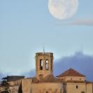 La Lluna i el Castell de Sant Martí Sarroca_1