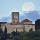 La Lluna i el Castell de Sant Martí Sarroca_2