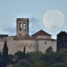 La Lluna i el Castell de Sant Martí Sarroca_3