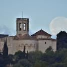 La Lluna i el Castell de Sant Martí Sarroca_4